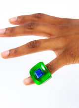 GREEN THING CHUNK RING