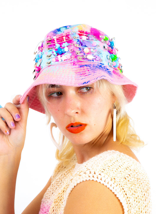 TIE DYE BUCKET HAT PERFECTION