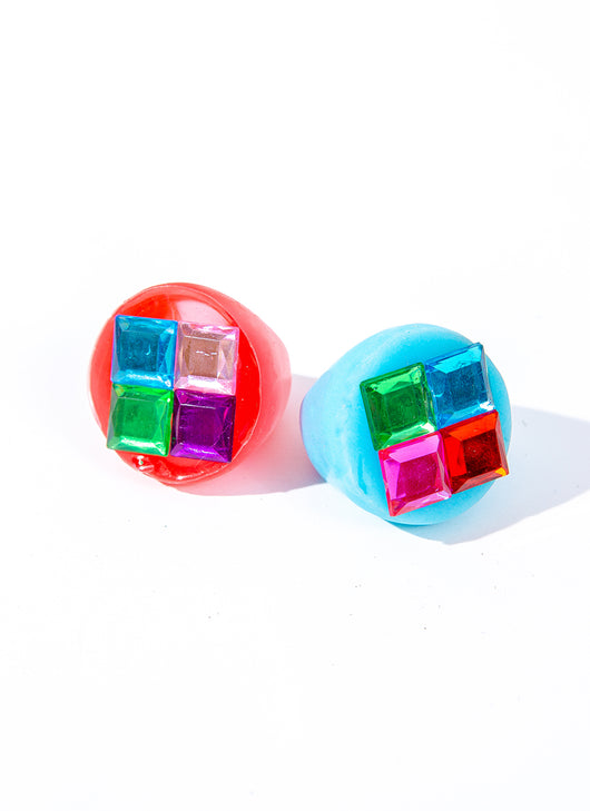 DISCO GEMS CHUNKY RINGS