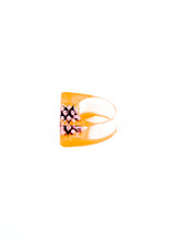 ORANGE CRUSH EVIL RING