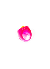 SNAKE KISS GEM RING