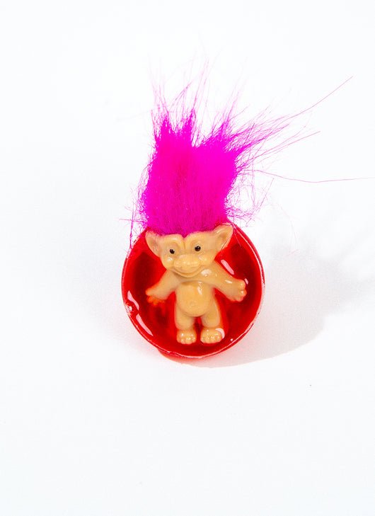 BUDDY HUGS TROLL RING