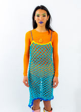 UNDER THE SEA FISHNET DRESS