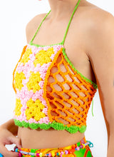 SUGAR SWEET CROCHET HALTER