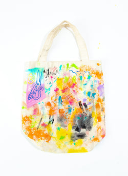 PAINT ATTACK CANVAS TOTE
