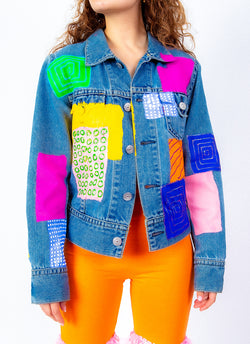 CONNECT WITH ME DENIM JACKET