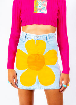 FLOWER BOMB MINI SKIRT (26
