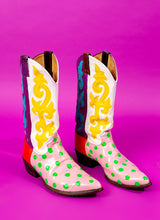 RAINBOW RODEO COWGIRL BOOTS