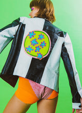 SLIME TIME LEATHER JACKET