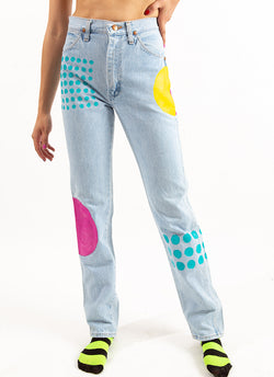 CONNECT THE DOTS DENIM