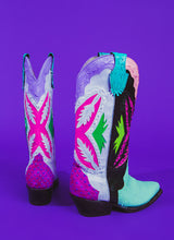 SOUR STITCH COWGIRL BOOTS