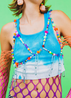 CYBER FREAK BEADED HARNESS