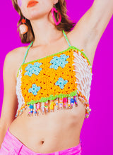 SUMMER SWEET HALTER TOP