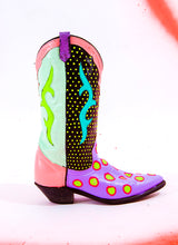 NEON SQUEEZE COWGIRL BOOTS