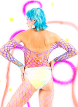 ANGEL BABY DYED FISHNET SUIT