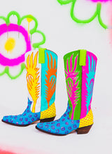 FLAMEY BABY COWBOY BOOTS
