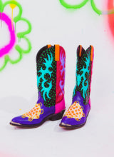 DON'T BE LATE TO OUR SNAKE DATE COWBOY BOOTS