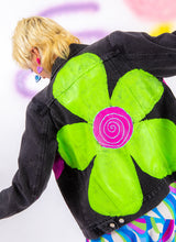 FLOWER BOMB DENIM JACKET