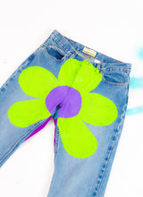 "FLOWER INVASION DENIM (30"")"