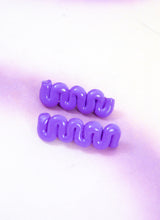 PURPLE FLIRT BARRETTE