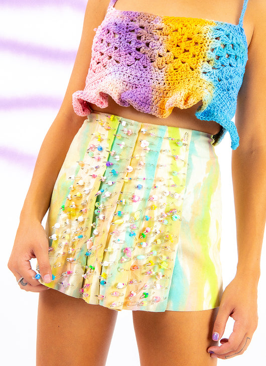 BABY CRAZY PLEATED SKIRT (22