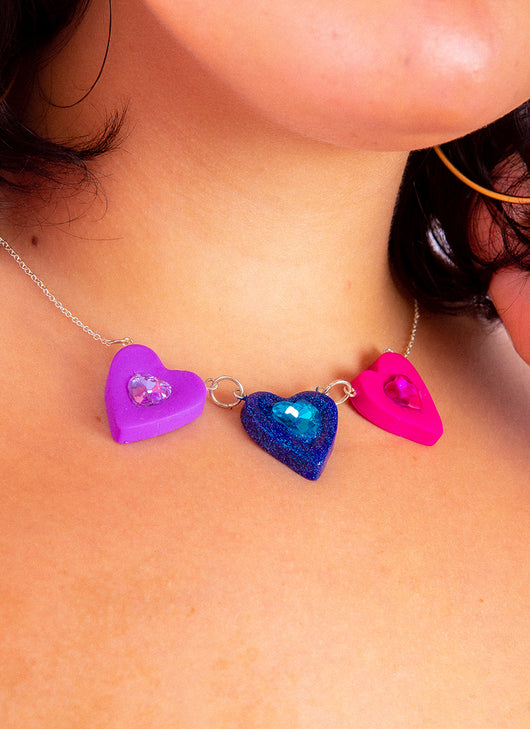 FRIENDSHIP HEARTS NECKLACE