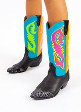 SEA SERPENT COWGIRL BOOTS