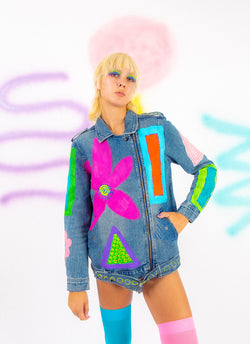 PAINT ALL DAY DENIM JACKET