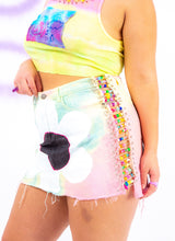 FLOWER BOMB MINI SKIRT