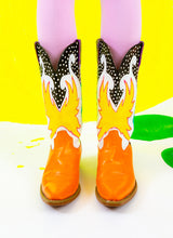 FIRE STARTERS COWGIRL BOOTS (size 10.5)
