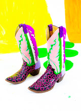 MIDNIGHT DANCE COWGIRL BOOTS (size 6.5)