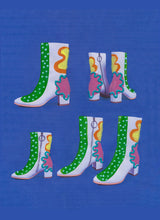 HOT DOT SQUIGGLE STOMPERS