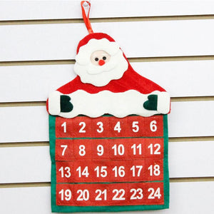 1pc Non-woven Fabric Christmas Decorations Santa