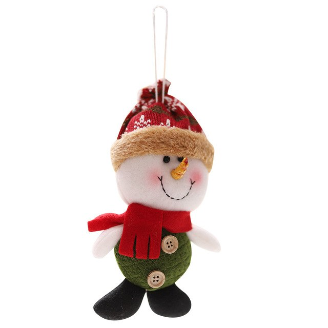 Christmas Plush Doll Christmas Santa Claus Snowman