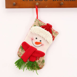 Christmas Stocking Christmas Tree Hanging Ornament