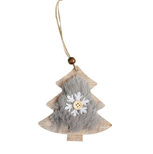 Christmas Tree Hanging Ornament Decor Snowflake
