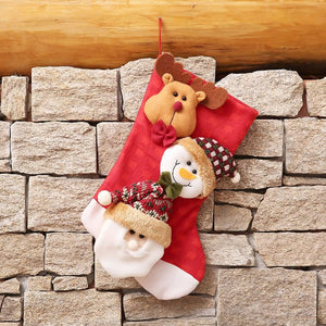 Happy New Year Home Decorative Christmas Stocking