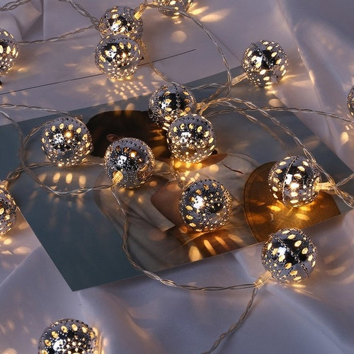 Ornament Lamps Lights String 1.5M 10 LED Christmas