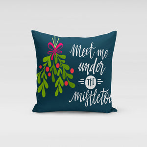 Under the Mistletoe Pillow Cover