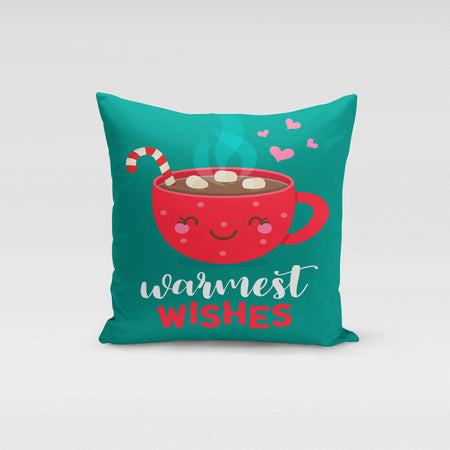 Warmest Wishes Pillow Cover