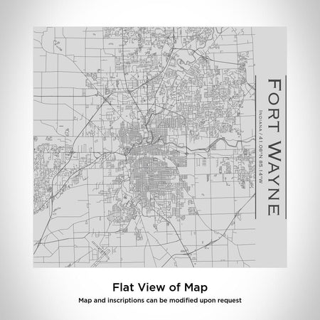Fort Wayne - Indiana Map Tumbler