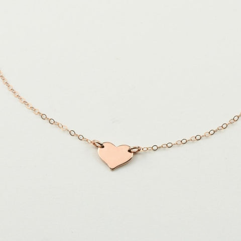 Petite Heart Necklace - Sash Jewelry