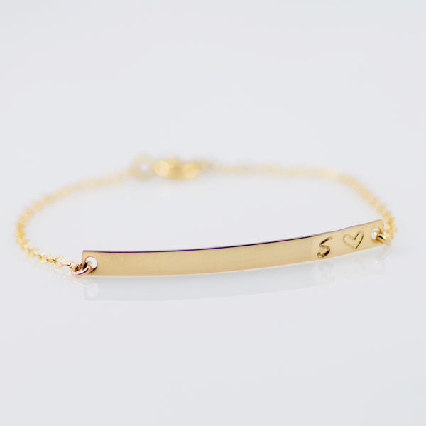 Bar Bracelet - Sash Jewelry