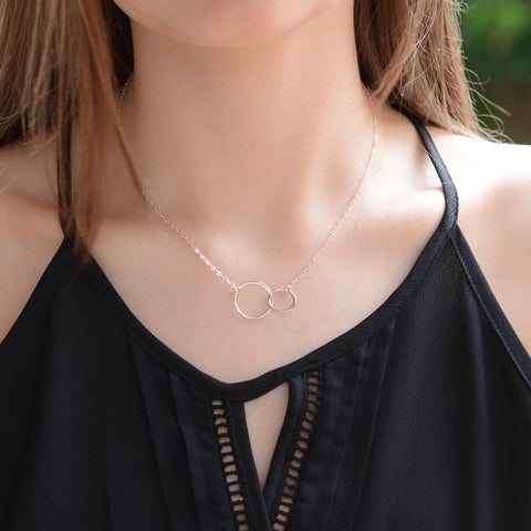 Eternity Necklace - Sash Jewelry