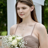 Bridesmaid necklace set - Sash Jewelry
