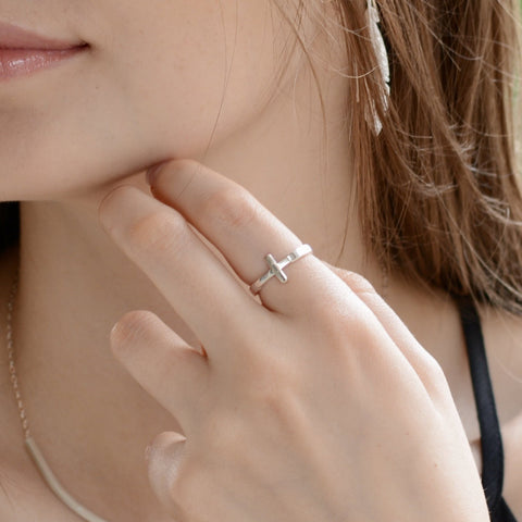 Cross Ring - Sash Jewelry