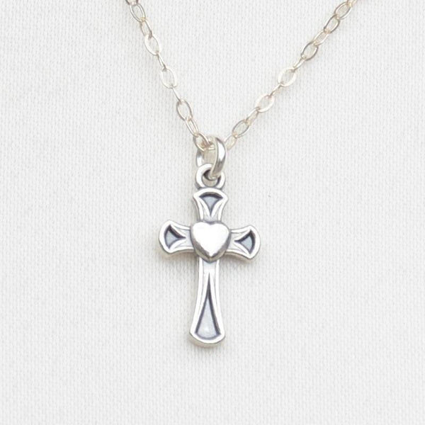Cross Necklace - Gift for Girls - Sash Jewelry