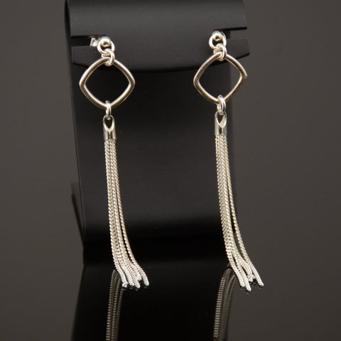 Tassel Earrings - Sash Jewelry