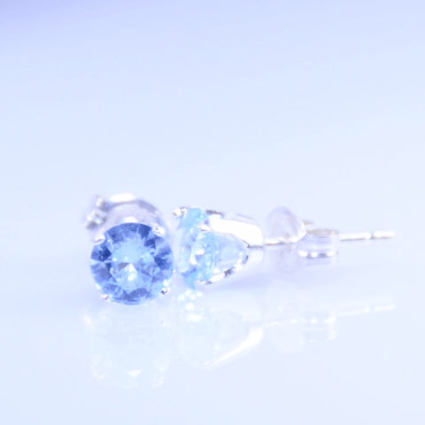 Birthstone Stud Earrings - Sash Jewelry