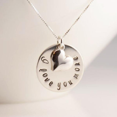 I Love You More Necklace - Sash Jewelry